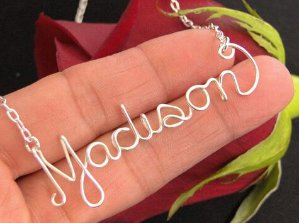 $19(reg.$79) Personalized Name Necklace in Sterling Silver - 16