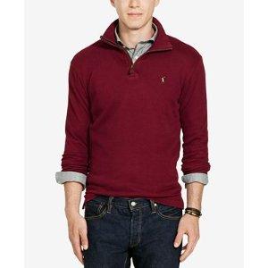 Polo Ralph Lauren Men's Estate Rib Half Zip Sweater