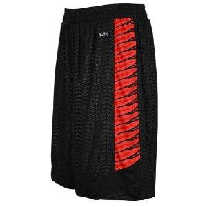 Eastbay EVAPOR Elevate Team Shorts - Men's - Basketball - Clothing - Black/Light Scarlet/Scarlet