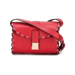 Furla Scalloped Detail Crossbody Bag