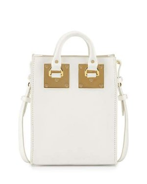 Sophie Hulme Nano Albion Leather Crossbody Bag @ Neiman Marcus