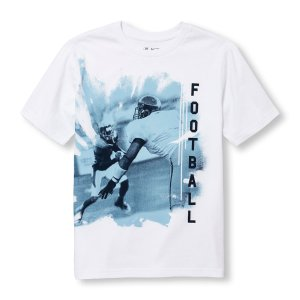 Boys Short Sleeve 'Football' Graphic Tee | The Children's Place