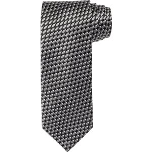Signature Checker with Pip Tie CLEARANCE - Clearance Ties   Jos A Bank
