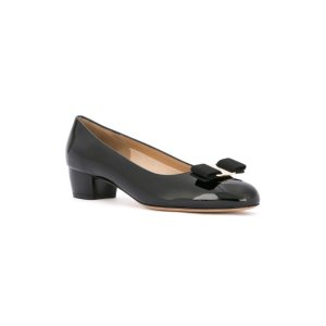 Salvatore Ferragamo Vara Leather Ballerinas | Tessabit shop online