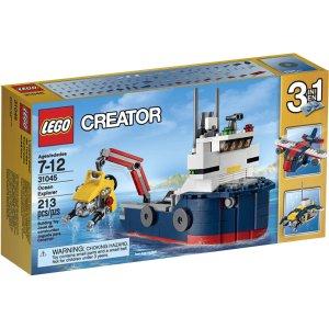 $10.99 (原价$14.99)LEGO 创意系列 31045 海上探险者