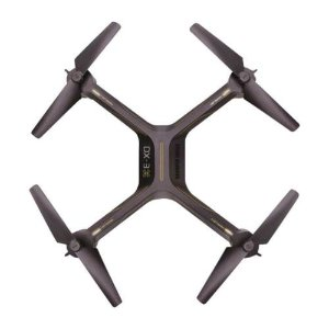 Sharper Image - DX-3 Drone with Remote Controller - Black/Yellow
