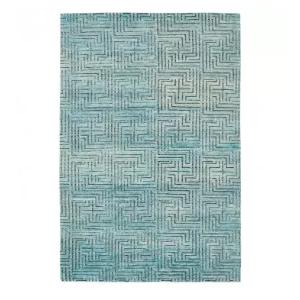 Nu Vibrant Silk & Wool Rug - 4'x6'