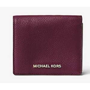 MICHAEL KORS STUDIO Mercer Leather Card Case
