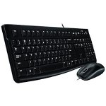 Logitech MK120 USB Slim Keyboard and Mouse Combo 920-002565