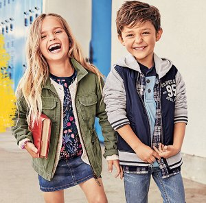 ONE DAY SALE!60% Off Boys and Girls Fall Fashion @ OshKosh BGosh