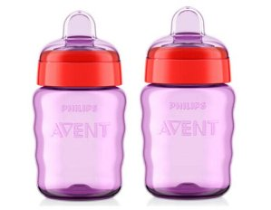 Philips Avent My Easy Sippy Spout Cup, 9 Ounces, 2-Pack