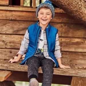 As low as $12 Kids' Puffer Vest Sale @ OshKosh BGosh