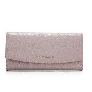 Burberry London Leather Glitter Porter Wallet