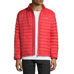 Lacoste Lightweight Quilted Down Jacket