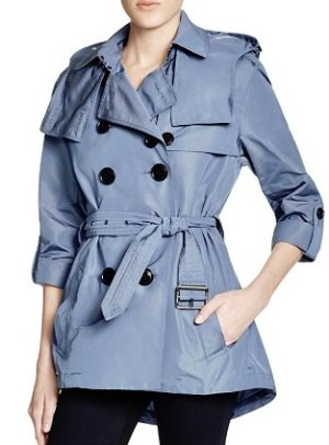 Burberry Brit Knightsdale Short Hooded Trench Coat @ Bloomingdales
