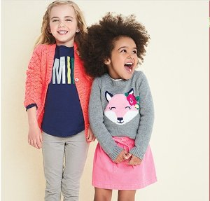 Today Only! 70% Off +  Extra 20% Off $50+ =76% Off! A Bright Flash Girls Apparel Sale @ Carter's