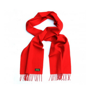 GLENCROFT 100% CASHMERE SCARVES - Red - Accessories | Unineed | Premium Beauty