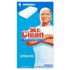 Mr. Clean Magic Eraser, Original, 4 Count: Health & Personal Care