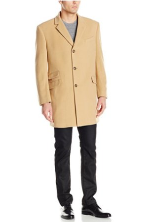 $100.75 Tommy Hilfiger Men's Bryce Single Breasted Top Coat
