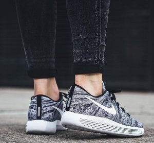 nike lunarepic flyknit womens black