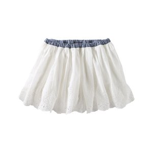 Toddler Girl Eyelet Skirt   OshKosh.com