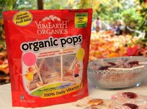 $6.39 YumEarth Organic Lollipops, 12.3 Ounce Bag