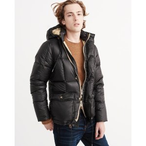 Mens Down Puffer Jacket | Mens Clearance | Abercrombie.com