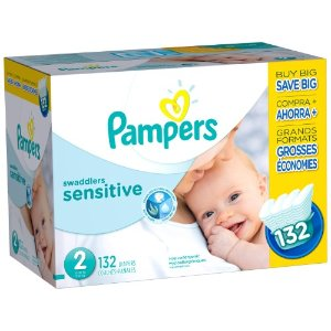 Pampers Swaddlers Sensitive Diapers, Super Economy Pack | Jet.com