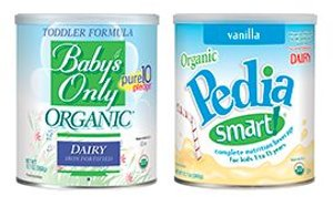 Free Sample + $5.95 Shipping Baby's Only Organic or PediaSmart Toddler Formula @ Nature's One