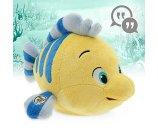Disney Animators' Collection Interactive Flounder Plush - 10'' | Disney Store