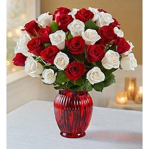 Peppermint Roses | 1800Flowers.com - 104382