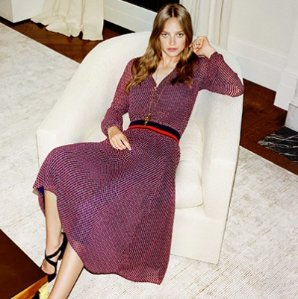 30% Off with Dresses Orders $250+ and Free Shipping@ Tory Burch
