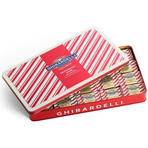 Assorted Peppermint Bark Large Tin - 100 pc