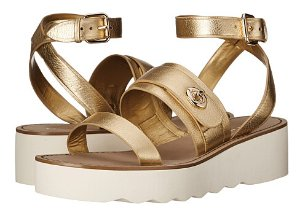 $64.99 COACH Platt Women's Sandal On Sale @ 6PM.com