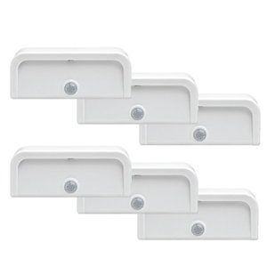 $34.95Mr. Beams MB706 Wireless Motion-Sensing Mini Stick-Anywhere LED Nightlights 6-Pack