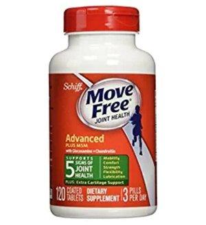 $12.99销量冠军!Schiff Move Free 维骨力关节保健品,120粒