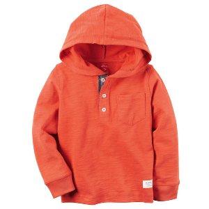 Long-Sleeve Hooded Tee | Carters.com