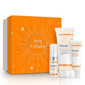 Merry and Glowing Trio | Murad