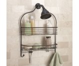 Chapter Wide Shower Caddy, Bronze - Walmart.com