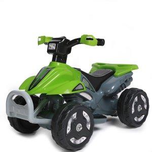 Kids Ride On 6V Battery Powered ATV Quad, Green - Walmart.com
