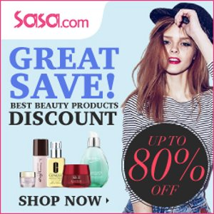 Up To 80% Off Great Save 2016 @ Sasa.com