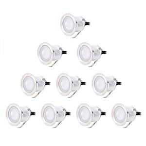 $32.19 CroLED Stainless Steel Waterproof Decor Lamp Outdoor LED Lighting, Pack of 10