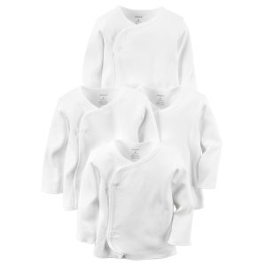 Baby Neutral 4-Pack Kimono Tees | Carters.com