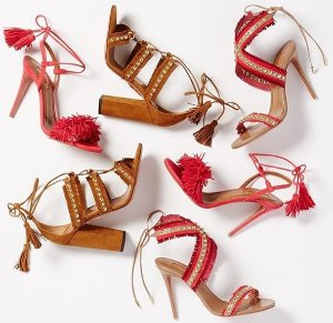 Up to 50% OffAquazzura Women's Sandals @ Forward