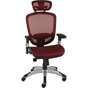 Staples Hyken™ Technical Mesh Task Chair, Red | Staples®