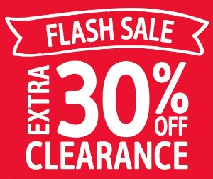Extra 30% Off Clearance Today Only! Flash Sale @ OshKosh