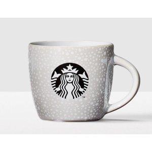 White Bubbles Ceramic Demi Mug | Starbucks® Store