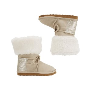 Baby Girl Carter's Sherpa Boots | Carters.com