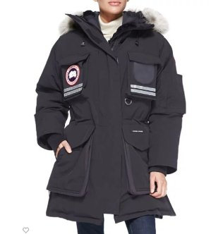 Up to $1200 Gift Card Canada Goose Snow Mantra Fur-Hood Coat @ Neiman Marcus