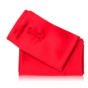 slip Queen Pure Silk Pillowcase - Red (1 piece)